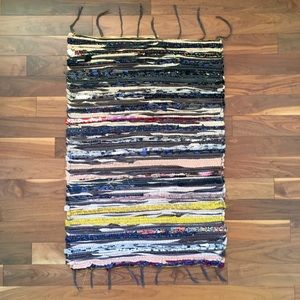 Upcycled Floor Mat